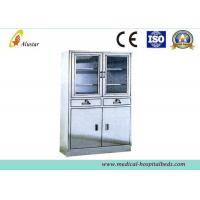Buy cheap Hospital Stainless Steel Metal Medical Cabinet, Shoes Cabinetwith Adjusted Shelves (ALS-CA008) product