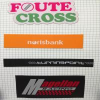 Buy cheap factory fashion straight cut labels customized garment damask woven labels from wholesalers