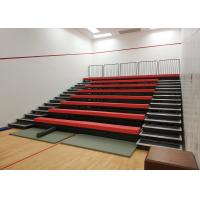 Buy cheap Sport Facilities Retractable Grandstands Seating HDPE / Upholstery Material product