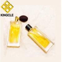 Buy cheap fancy original creative pink painting coating inside empty 100ml glass perfume bottle product