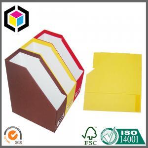 Buy cheap Fashion Design 2016 A4 Size File Chipboard Paper Folder; File Storage Paper Box product