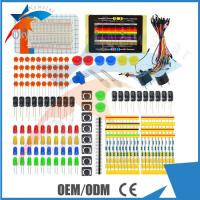 China LED Resistor Buzzer Breadboard Dupont cable Electronic Starter Kit For Arduino , Universal Parts wholesale