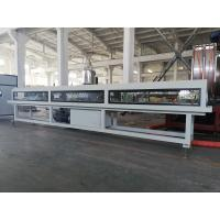 Buy cheap Low Noise Plastic Pipe Extrusion Machine , Twin Screw PVC Pipe Production Line product