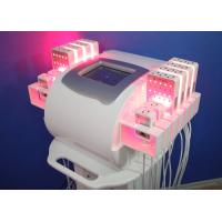 Buy cheap Zerona Laser Lipo Diodes Laser Liposuction Machines for Salon ,  Lipolaser Cellulite Removal product