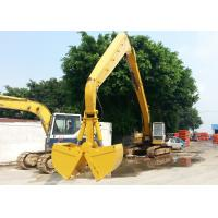 Buy cheap 19600 Mm Max Reach Material Handling Arm Non Extra Counter Weight Yellow Color from wholesalers