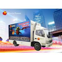 China Truck Mobile 7D Simulator Cinema Movie Theater Equipment 220V 2.25KW on sale