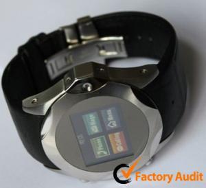 Le téléphone visuel Dual Sim de la montre-bracelet 3G de S730 KK carde le remplaçant avec la construction dans la mémoire 4GB