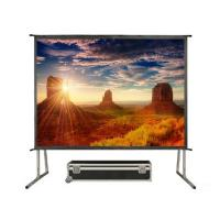 """Buy cheap 300"""" Portable Folding Screen , Fast Fold  Screens With Aluminum Housing product"""
