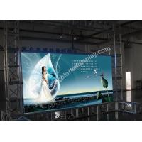 Buy cheap Advertising P7.62 Full color LED display / indoor led screen with VMS Video Processor product