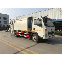 China 4x2 6tires compressor garbage truck of Sinotruk Howo7 8M3-10M3 on sale