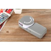 Buy cheap Portable Smile Adjustable Rechargable Handheld USB Mini Air Conditiong Fan product