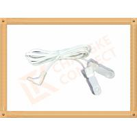 Buy cheap Surgical DC 2.35mm Tens Unit Replacement Leads Wire To Clip 3m product