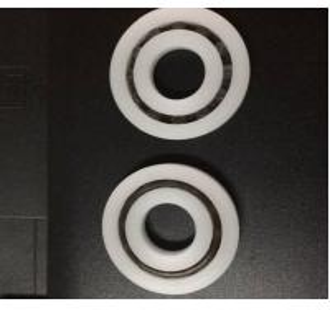 Buy cheap Шарикоподшипник пластмассы шарика нержавеющей стали кольца ПА Р8 product
