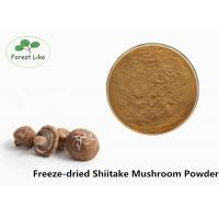 Buy cheap Anti-cancer Freeze-dried Powder Shiitake Mushroom Powder For Supplement product