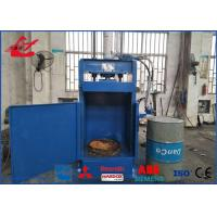 Buy cheap Large Output Waste Oil Steel Drum Crusher Box Press Compactor Machine 25 Ton Press Force High Stable Performance product