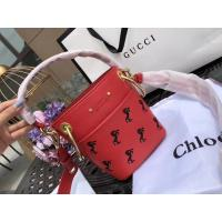 Buy cheap Chloe Young The Owen Series Pony Embroidery Bucket Package chloe Drew Metal Wide Shoulder Strap product
