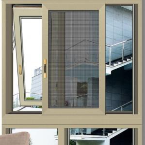 China Professional Australian standard double glazed aluminum awning/awing window on sale