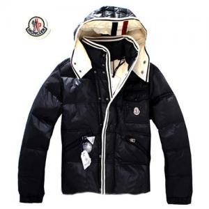 Buy cheap Des nouveaux hommes du moncler veste vers le bas, noir, taille 4 product