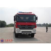 6x4 Drive Fire Fighting Truck Rotatable Type Cab With 16 Forward Gear