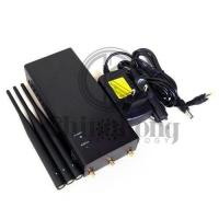 Buy cheap Handheld Remote Control Signal Jammer 10W Output Power Jamming Up To 100meters product