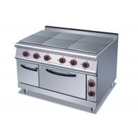 China Professional Cooking Lines 1 / 4 / 6 Plates Electric Stainless Steel Hot Plate on sale