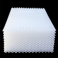 Buy cheap Thickness 0.40mm PP PVC Tube Settler For Waste Water Treatment product