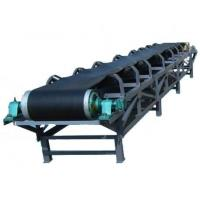 China Chemical Materials Industrial Conveyor Belts Stationary Type Smooth Delivery on sale