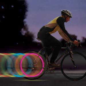 Luz da roda do diodo emissor de luz