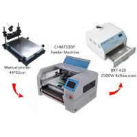 Buy cheap Desktop SMT Production Line Solder Paste Screen Printer CHMT530P Pick And Place from wholesalers
