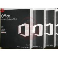 China Microsoft Office Home And Business 2016 For Mac Retail Key Online Activate on sale