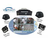China 64GB SD Card 4CH 1080P AHD 3G 4G WIFI And GPS Mobile NVR For Bus / Truck / Taxi on sale