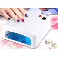 Buy cheap White Light Gel Nail Uv Lamp 36 W , Electric Infrared Portable  Nail Dryer Machine product