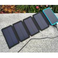 Buy cheap Waterproof Portable Solar Power Bank, Outdoor Folding Solar Battery Charger For Mobile Phones product