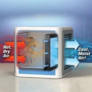 Quality USB Mini Protable Air Conditioner Humidifier purifier 7 Colors Light Desktop Air for sale