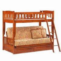 Buy cheap Bunk/twin bed, made of Russian pine, non-toxic product