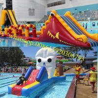 Inflatable Pool Obstacle Kids Obstacle Course Equipment Kids Obstacle Course Floating Water
