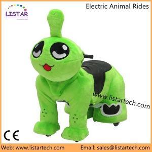 Buy cheap El animal de la historieta monta los juguetes felices del jinete en los paseos animales eléctricos de la vespa de la rueda para las ventas product