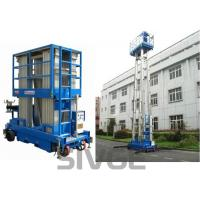 Buy cheap Four Mast Two Men Aerial Work Platform With 8m Working Height 480 Kg Load Capacity product