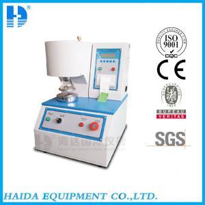 China Electronic Carton Bursting Tester , Paper Board Burst Equipment , paper testing wholesale