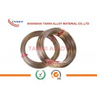 Buy cheap CuMn12Ni4 Manganin Wire 6J13 / 6J12 / 6J8 For Precision Instrument product