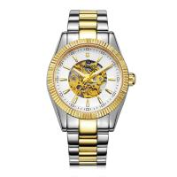 Buy cheap Popular Automatic Mens Wrist Watches Gold Plated CE ROHS Approved product