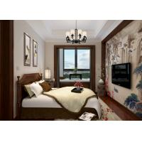 Buy cheap Bedroom Light Grey Modern Removable Wallpaper, Home Decorating Wallpaper product