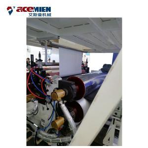 China Multi Layer SPC Flooring Making Machine , LVT Vinyl Plank Floor Production Line on sale