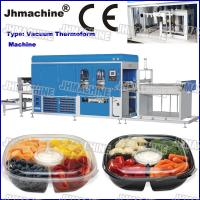 Buy cheap CE Standard PP food grade Trays Automatic Vacuum Thermoforming Machine for biscuits trays product