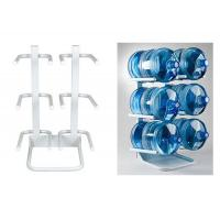 Buy cheap 6 Bottled / 5Gallon Water Bottle Rack With Solid Steel Construction Demountable Type product