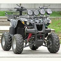 China Electric Atv Quad Bike 1500W / 2000W DC Brushless Motor With Four Bright Lights wholesale