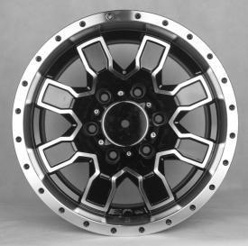 Buy cheap L'aluminium d'Off Road de 20 pouces roule des jantes de camion de noir du marché des accessoires 4x4 pour la collecte product