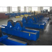 Buy cheap Hydraulic Adjustable Pipe Tank Turning Rolls With Rubber Coated product