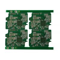 China 10 Layer FR4 PCB Board Fabrication , 3mil Line Space Width High TG PCB Fabrication on sale