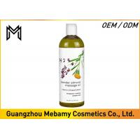 China Almond Lavender Massage Oil Therapy Sensual Refreshing Full Body  For Skin Care on sale